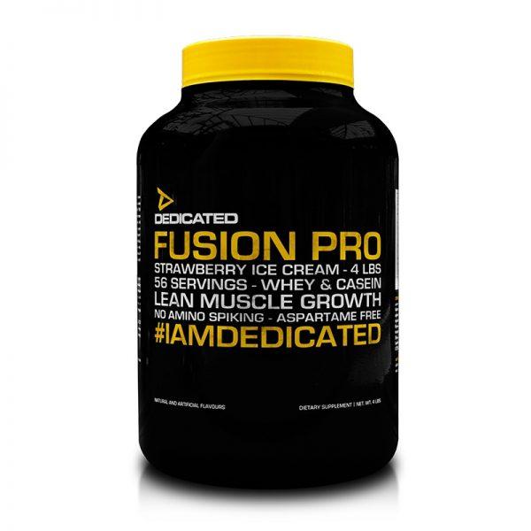 fusion pro dedicate nutrition